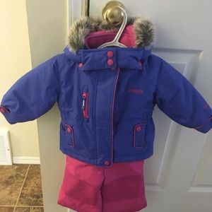 Children's snowsuit 12months.